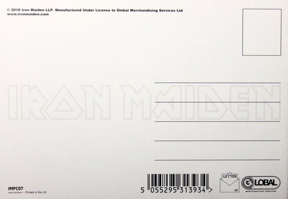 pocztówka IRON MAIDEN - KILLERS