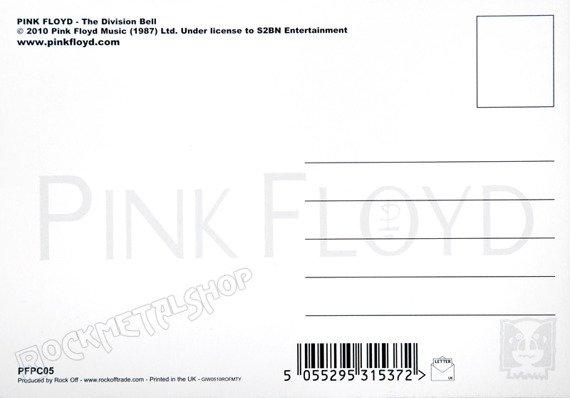 pocztówka PINK FLOYD - THE DIVISION BELL GRAPHIC