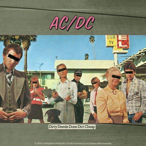podkładka pod kubek AC/DC  4 szt