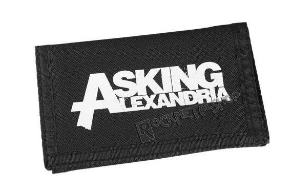 portfel ASKING ALEXANDRIA - LOGO