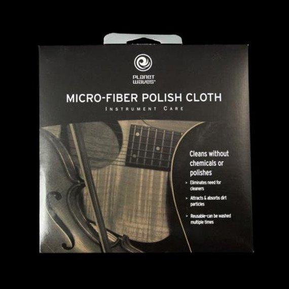 ściereczka czyszcząca z mikrowłóknami PLANET WAVES - MICRO FIBER POLISH (PW-MPC)