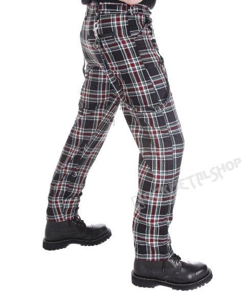 spodnie DEAD THREADS - TARTAN