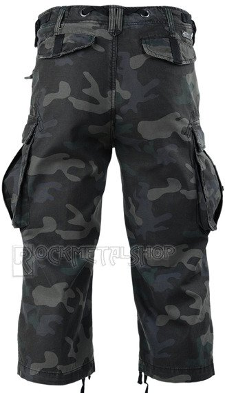 spodnie bojówki INDUSTRY VINTAGE 3/4 - DARKCAMO