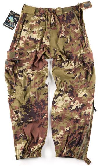 spodnie bojówki SOFT SHELL TROUSERS VEGETATO