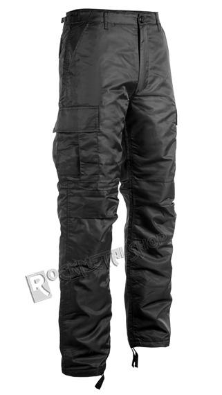 spodnie bojówki THERMO HOSE black
