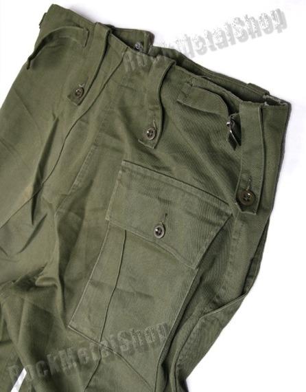 spodnie bojówki TROUSERS DPM COMBAT LIGHTWEIGHT / OLIVE (Demobil Wielka Brytania)