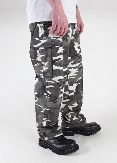 spodnie bojówki US FELDHOSE TYP BDU R/S CO PREWASH Urban