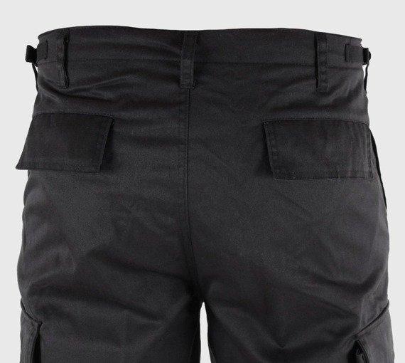 spodnie bojówki krótkie BERMUDA T/C SCHWARZ