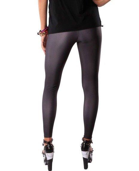 spodnie damskie IRON FIST - WISHBONE LEGGING