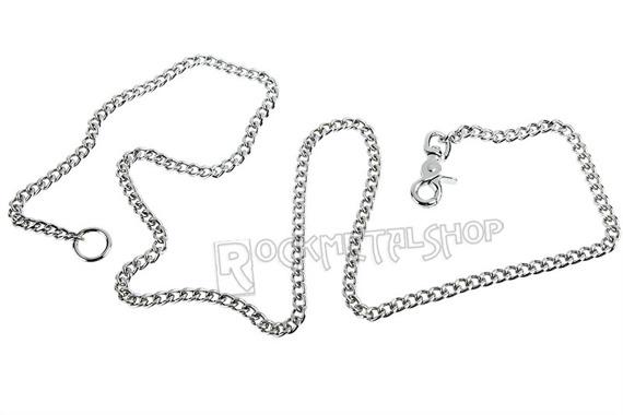 średni łańcuch do kluczy/portfela (150 cm) z karabińczykiem NR 2