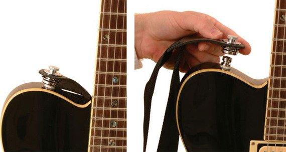 straplock / zaczep do paska HENNESSEY NSL7200B BLACK (komplet 2szt.)