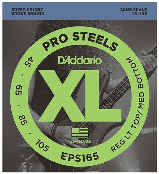 struny do gitary basowej D'ADDARIO EPS165 /045-105/
