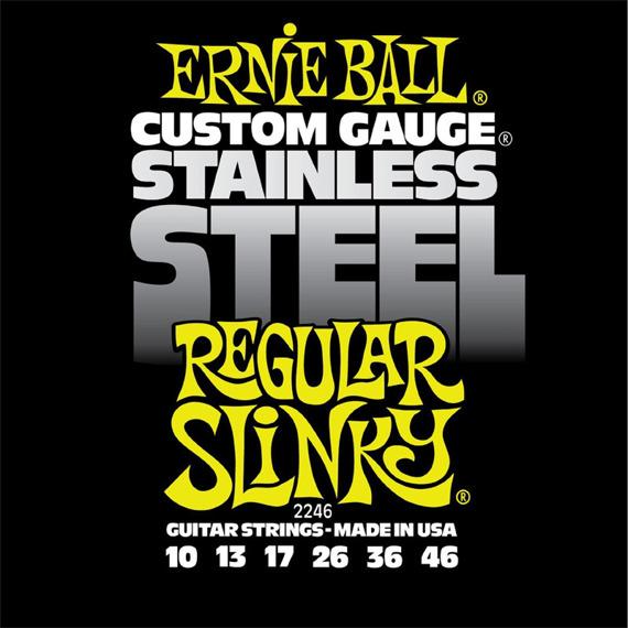 struny do gitary elektrycznej ERNIE BALL EB2246 Slinky Regular /010-046/