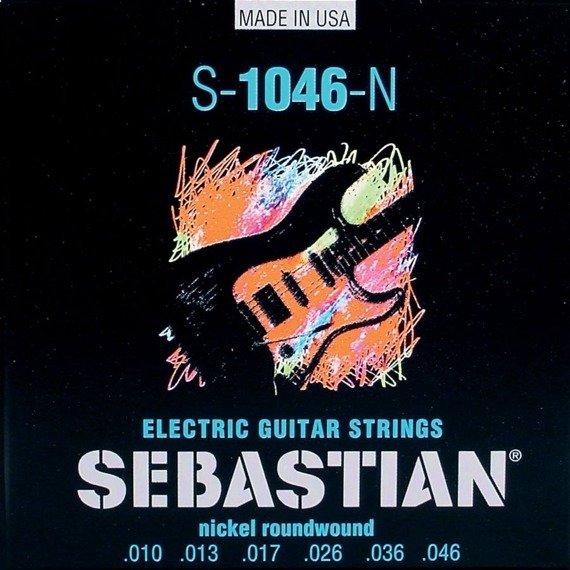 struny do gitary elektrycznej SEBASTIAN S-1046-N Nickel Roundwound /010-046/