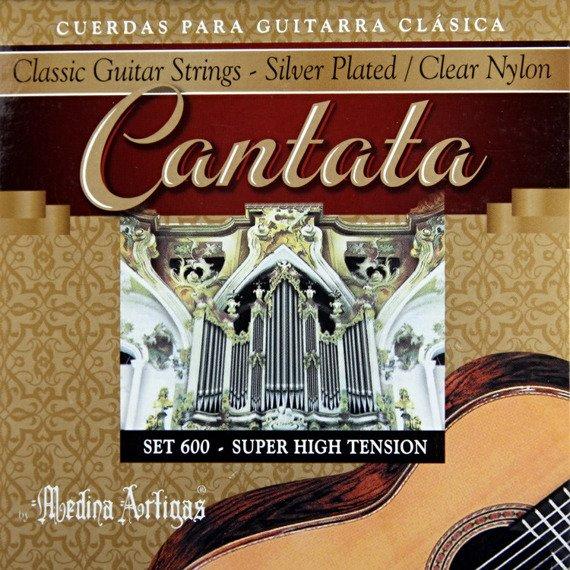 """struny do gitary klasycznej MEDINA ARTIGAS """"Cantata"""" Super High Tension 600"""