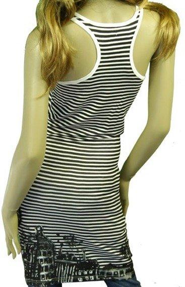 sukienka IRON FIST - WE ARE 138 RACER BACK (WHITE)