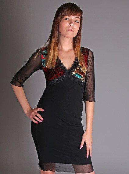 sukienka JULIANA czarna