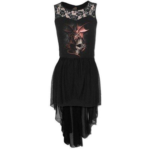 sukienka SERPENT INFECTION czarna