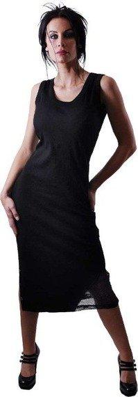 sukienka SPIRAL czarna