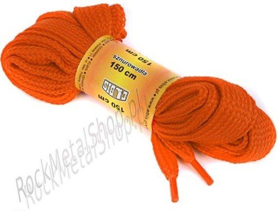 sznurowadła POMARAŃCZOWE sz.1,5cm, dł.150cm (150p)