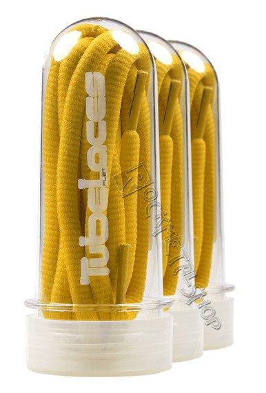 sznurowadła TUBELACES - LEMON (180 cm)