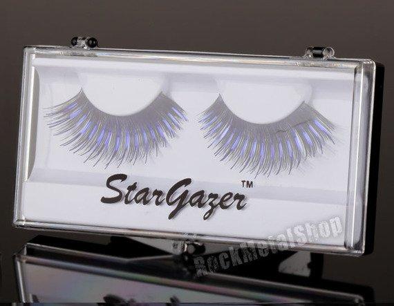 sztuczne rzęsy STARGAZER - BLACK & PURPLE FOIL (#8)