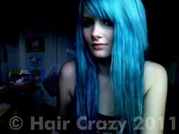 toner do włosów CRAZY COLOR - PEACOCK BLUE [45]
