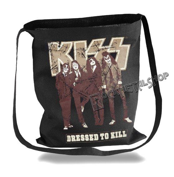 torba bawełniana KISS - DRESSED TO KILL