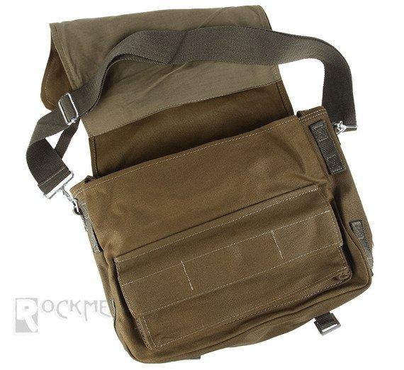 torba na ramię CANVAS, duża OLIV