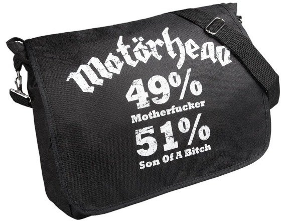 torba na ramię MOTORHEAD - 49% MOTHERFUCKER, 51% SON OF A BITCH