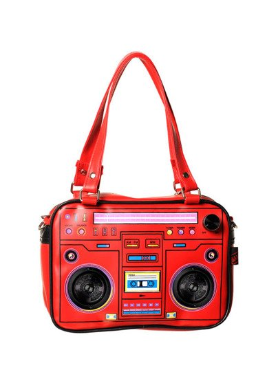 torebka grająca CASSETTE PLAYER (RED)