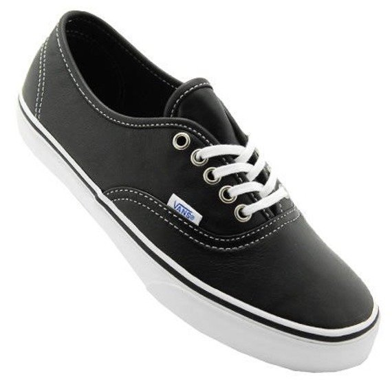 trampki VANS - AUTHENTIC AGED LEATHER BLACK