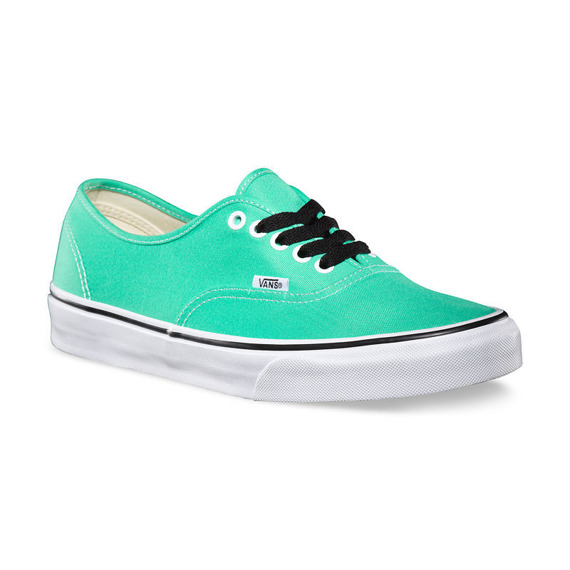 trampki VANS - AUTHENTIC BISCAY GREEN TRUE WHITE