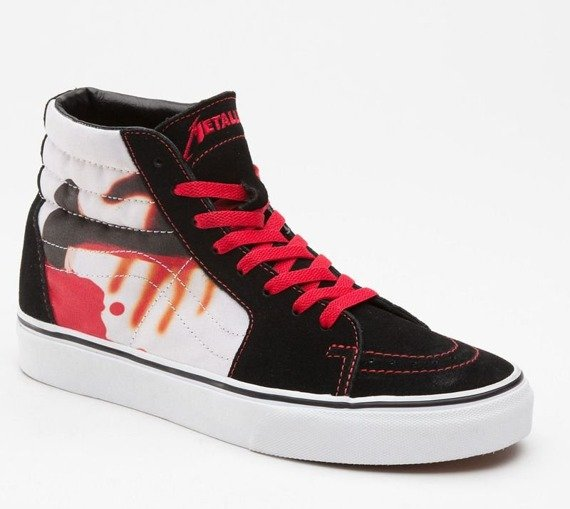 trampki VANS - METALLICA KILL EM ALL SK8-HI