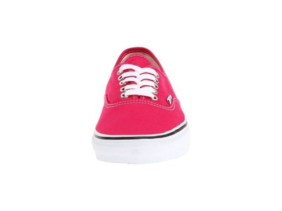 trampki damskie VANS  - AUTHENTIC BRIGHT ROSE/TRUE WHITE