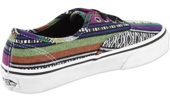 trampki damskie VANS  - AUTHENTIC GUATE BLACK TRUE WHITE