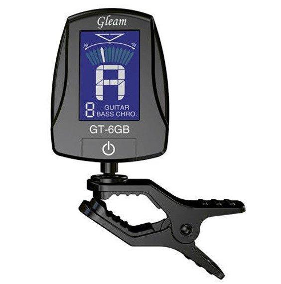 tuner / stroik gitarowy GLEAM GT-6GB uniwersalny, na klip