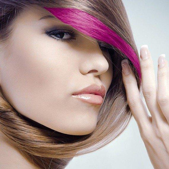 tusz do włosów (HAIR MASCARA) kolor POMARAŃCZOWY UV (ORANGE)