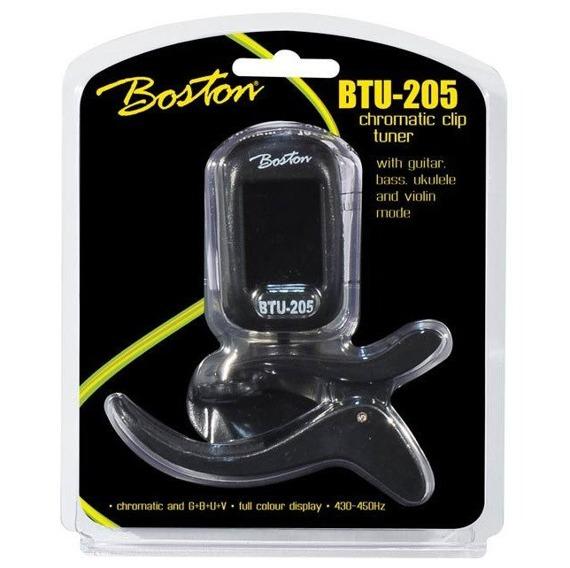 uniwersalny tuner BOSTON BTU-205 chromatyczny, na klips