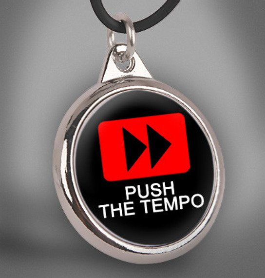 wisior PUSH THE TEMPO