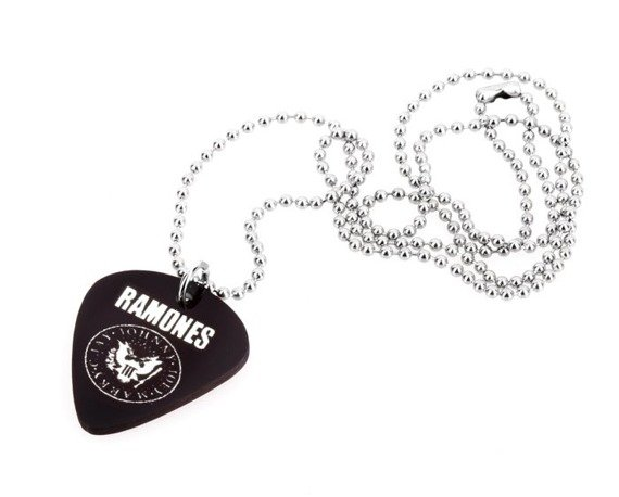 wisior kostka gitarowa RAMONES