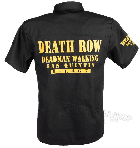 workshirt BANNED - DEATH ROW