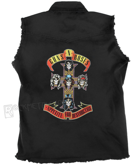 workshirt GUNS N' ROSES - APPETITE FOR DESTRUCTION
