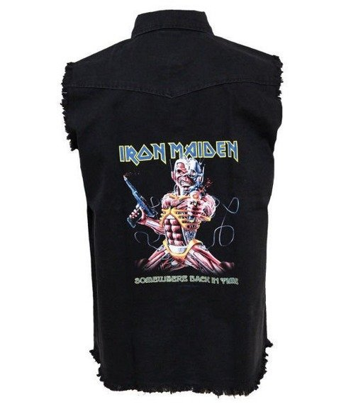 workshirt IRON MAIDEN - SOMEWHERE BACK IN TIME