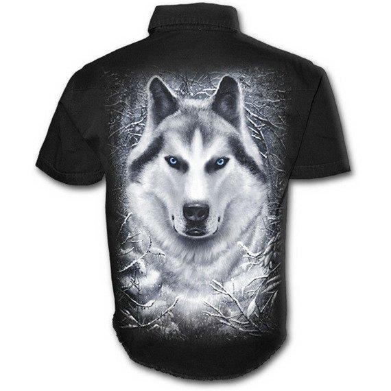workshirt WHITE WOLF