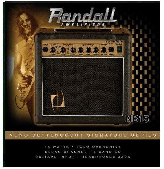 wzmacniacz gitarowy combo RANDALL NB15 NUNO BETTENCOURT Signature