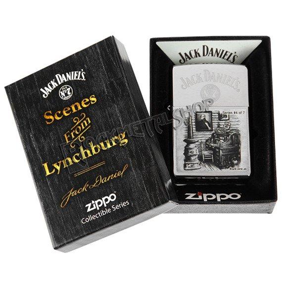zapalniczka ZIPPO - JACK DANIEL'S SCENES 4
