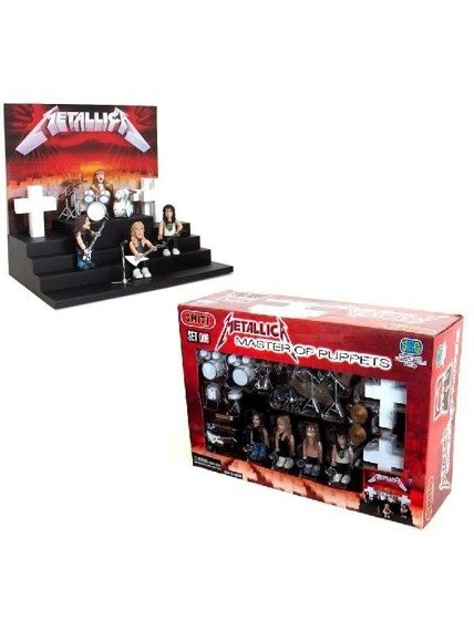 zestaw figurek METALLICA - MASTER OF PUPPETS PLAYSET
