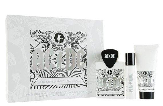 zestaw kosmetyków AC/DC - BLACK ICE, damskie