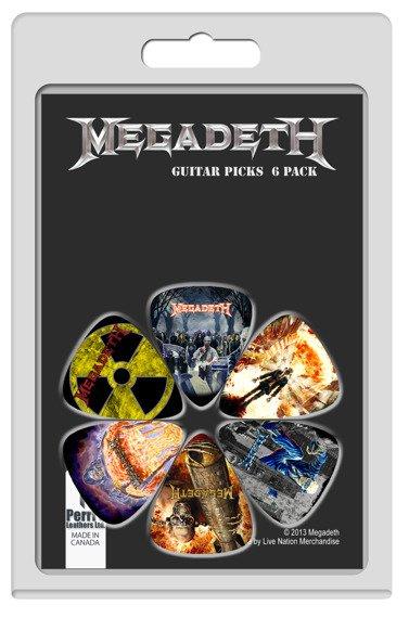 zestaw kostek MEGADETH (6 szt)